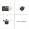 ABM járműspecifikus tolatókamera (Audi A3 2011)