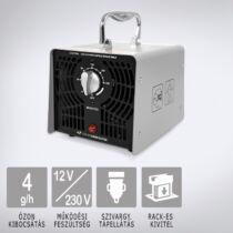 OZONEGENERATOR Silver 4000 H szivargyújtós (12V) ózongenerátor készülék gyors-cserés ózonkazettával