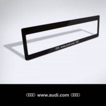 Rendszámtábla matrica: www.audi.com