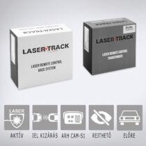 LaserTrack Flare F2: Aktív lézeres traffipaxvédelmi termék 2db előre szerelhető szenzorral