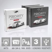 Antilaser AL PRIORITY HW4-3: Aktív lézeres traffipaxvédelmi termék 3db szenzorral