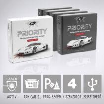Antilaser AL PRIORITY HW4-4: Aktív lézeres traffipaxvédelmi termék 4db szenzorral