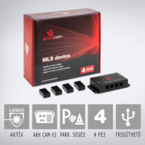 MLS Speedom 4: Aktív lézeres traffipaxvédelmi termék 4 db szenzorral