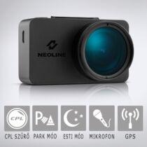 Neoline G-Tech X74: Professzionális autós fedélzeti kamera kijelzővel, telepített traffipax adatbázissal