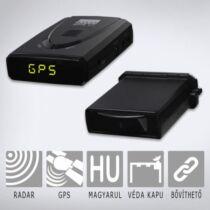 KIYO GPS U1 + RADAR: Telepített traffipax előrejelző teljes Európa adatbázissal, radardetektor modullal és magyar nyelvű beszédhanggal.