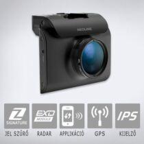 Neoline X-COP R750 DVR:  Autós fedélzeti kamera telepített traffipax adatbázissal és radardetektorral