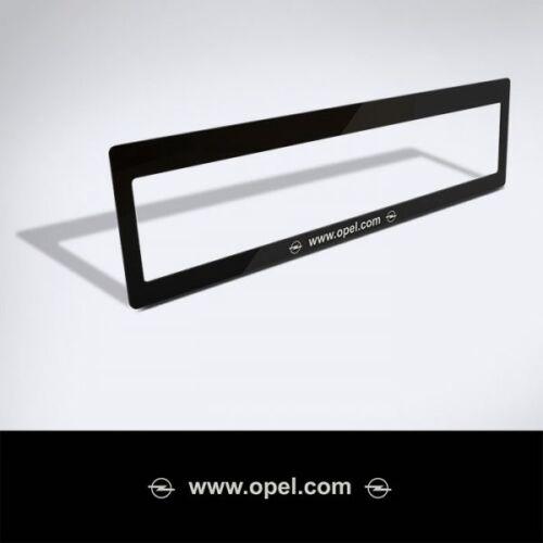 Rendszámtábla matrica: www.opel.com