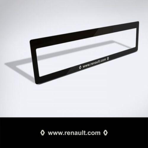Rendszámtábla matrica: www.renault.com