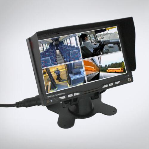 """ABM 4 videó bemenetes 7"""" monitor"""