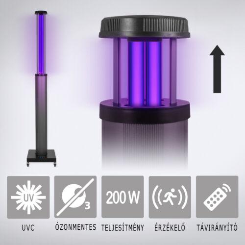UV2CLEAN Pro200 UV-C germicid lámpa 200W