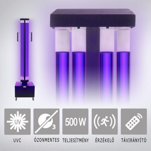 UV2CLEAN Pro500 UV-C, germicid lámpa 500W