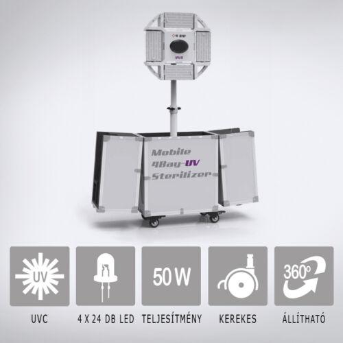 UV-C LED lámpa G-Comin 4Bay 50W