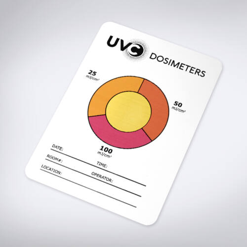 UV-C Ultraibolya Doziméter